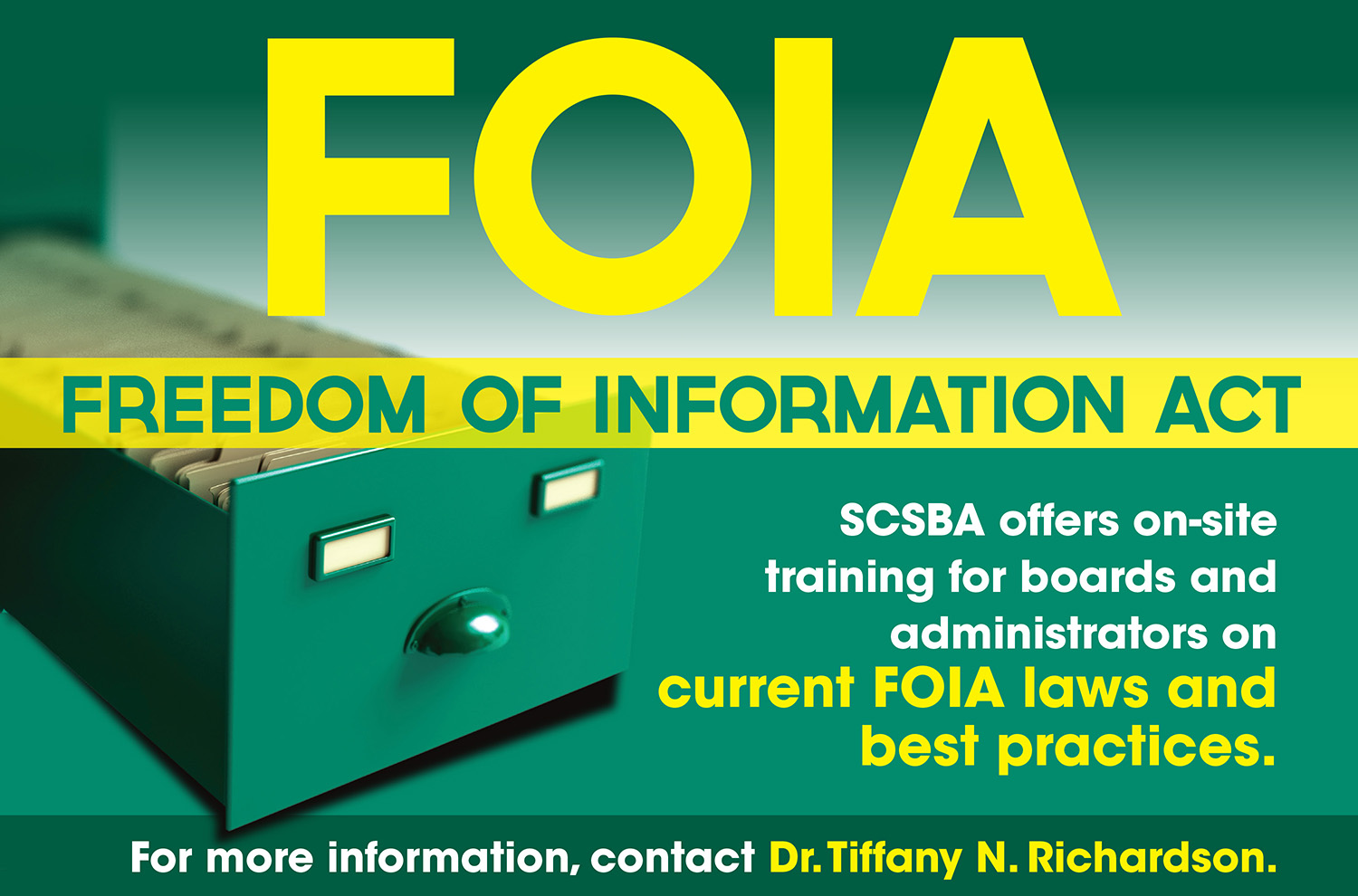 Freedom of Information Act training