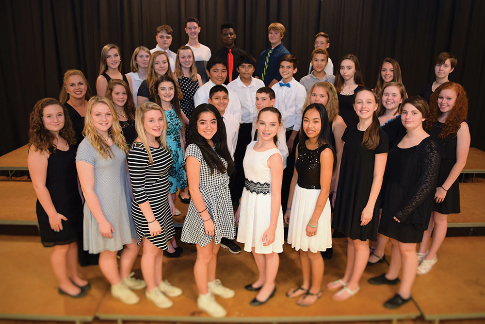 Kennedy On Stage of Aiken County Public School District will perform during Sunday's closing general session.