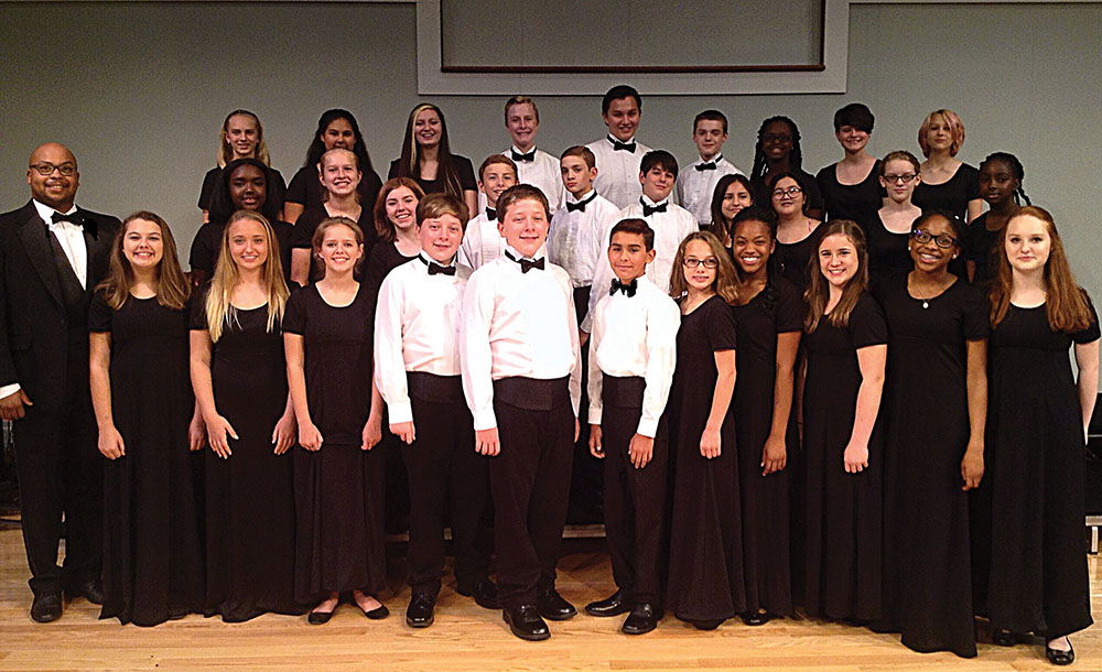 The Eighth Grade Star Singers of Dorchester School District Two  will perform during Sunday's closing general session.
